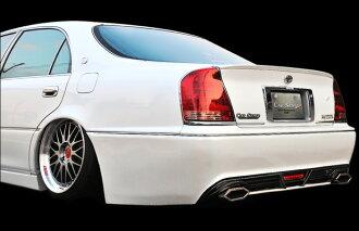 マジェスタ17系マフラー(角刈りエディション溶接タイプ)両側出しクリエイティブディレクションシリーズカーセンス