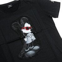 【maxsixマックスシックスTシャツ】3DミッキーTシャツ/ブラック【タッドポリード限定】