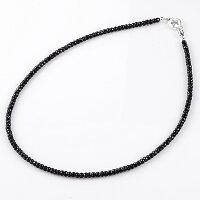 KINGLIMO(キングリモ):GalaxyNecklace/BlackSpinelw/BlueSpinel/50cm(ギャラクシーネックレス/ブラックスピネルw/ブルースピネル/50cm)
