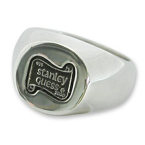 【STANLEY GUESS スタンリーゲス Ring リング】ラージロゴリング【送料無料】