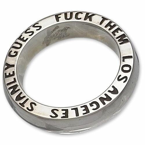 【STANLEY GUESS スタンリーゲス Ring リング】ファックゼムバンドリング【送料無料】
