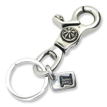 【STANLEY GUESS スタンリーゲス Key Chain キーチェーン】スカルクラシッククリップw/スイベル&IDタグキーリング【送料無料】