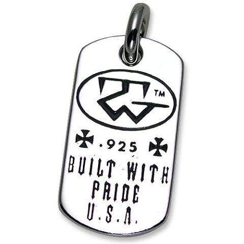 【TRAVIS WALKER DOUBLE CROSS トラヴィスワーカー ダブルクロス ドッグタグ】ビルトウィズプライドドッグタグ【送料無料】