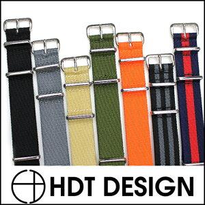 強度のあるバリスティックナイロンを使用した時計ベルト!◆HDT バリスティック NATOストラップ...