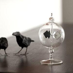【ショート】Vogel Radiometer フォーゲル ラジオメーター ドイツ製 書斎 リビング インテリア 雑貨 クリスマス プレゼント 贈り物 ガラス