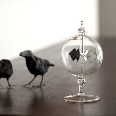 【ショート】Vogel Radiometer フォーゲル ラジオメーター ドイツ製 書斎 リビング インテリア 雑貨 クリスマス 父の日 プレゼント 贈り物 ガラス