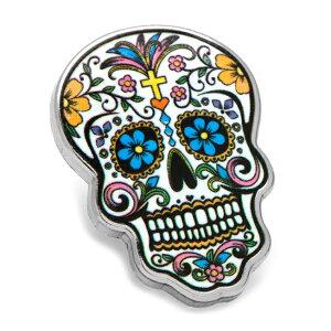 アクセサリー ラペル ラペルピン スーツ 襟 Various Licensed Day of the Dead Skull Lapel Pin メキシコ 死者の日 スカル ドクロ カラフル CC-DODS-LP【P10】