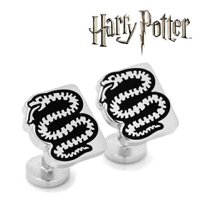 アクセサリー カフス カフリンクス カフスボタン Various Licensed Slytherin House Snake Cufflinks ハリー ポッター スリザリン 蛇 ロゴ ホグワーツ HP-SLSN-SL