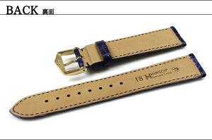 ★HIRSCHEARLアールレザー・革腕時計用・時計ベルト・時計バンド18mm19mm20mm22mm【送料無料】【メンズ】