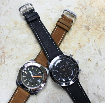 時計 ベルト 腕時計 バンド RIOS1931 Havana ハバナ 18mm 20mm 22mm ブラック ブラウン