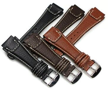 時計 ベルト 腕時計 バンド RIOS1931 Nature Buffalo ネイチャー バッファロー レザー 革 18mm 20mm 22mm ブラック ブラウン ネイビー