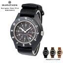 marathonwatch 時計 腕時計 ミリタリーウォッチ アメリカ軍 MARATHON Navigator Date Pilot マラソン ナビゲーター デイト パイロット クォーツ WW194013 サファイアクリスタル風防・・・