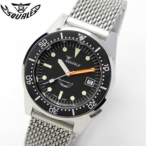 腕時計, メンズ腕時計  SQUALE PROFESSIONAL 1521-026 500m