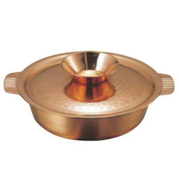ガゼル 銅 ちり鍋 33cm【代引き不可】【鍋】