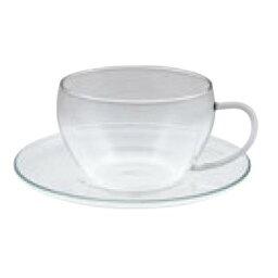 セレック ガラスカップ&ソーサー クリア GCS-1【ティーカップ】【ティーカップ】【グラス】