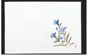 四季紙・富久寿(100枚入) ききょう M30-306【敷紙】【会席紙】【会席マット】【業務用】