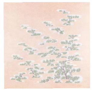 不織布シート 旭装 松 (10枚入) 750【折箱 仕出 お弁当用品】【ふろしき】【風呂敷】【業務用】