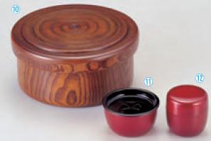 木製(小)茶枢 スリ漆【客室用品】【茶器】【茶道具】【茶道】【茶会席】【お茶】【1-825-10】