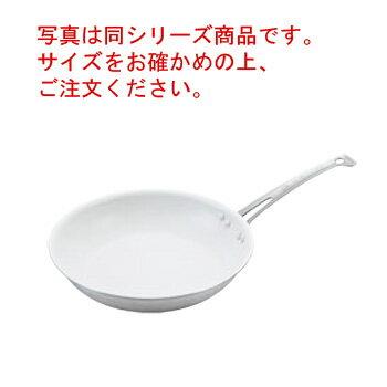 アルミキング シルクウェアスノーホワイトフライパン 深型 30cm【フライパン】【深型】【チタンコートフッ素樹脂加工】【業務用フライパン】【業務用】
