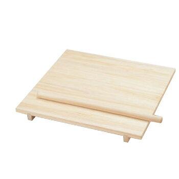 桐製 のし板(棒付)中 800×700×H80(85295)【麺台】【蕎麦】【うどん】【のし台】【めん台】