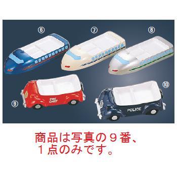 メラミン ランチ皿 消防車【メラミン食器】【皿】