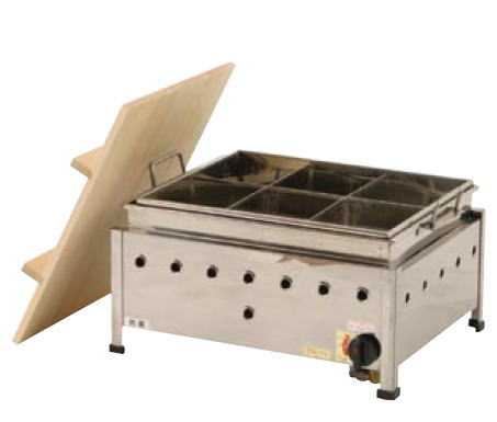 湯煎式おでん鍋 (自動点火) OA13SWI((ガス種:プロパン) LP)【代引き不可】