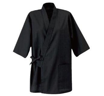 男女兼用作務衣 JT-2011(消炭色) L