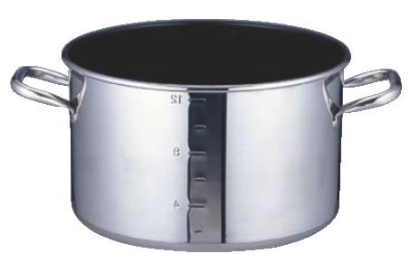 SAパワー・デンジ アルファ 半寸胴鍋 36cm(蓋無)目盛付