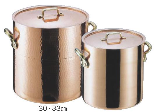 SAエトール銅 寸胴鍋 33cm