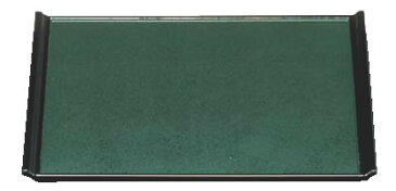 宴盆 グリーン石目渕黒 尺8寸 1-52-28【お盆】【トレイ】【トレー】【会席盆】【業務用】