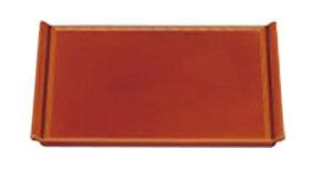 宴盆 漆調春慶塗(底面黒塗) 2尺1寸【お盆】【和食盆】【懐石盆】【会席盆】【春慶塗】【ティートレー】【オードブルトレー】【1-6-22】