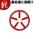 HB-4196フェール鉄鋳物ミニ五徳(ホーロー加工)レッド