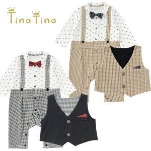ティノティノ フォーマル 赤ちゃん ベビー服 セレモニー チャックルベビー