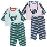 赤ちゃん ベビー服 パジャマ チャックルベビー