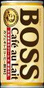 中国卸問屋で買える「訳アリ 缶難 BOSS ボスカフェオレ 185g缶 4901777235434 ソフトドリンク コーヒー 飲料 北海道産生クリーム&厳選牛乳 癒される 大人のオレ」の画像です。価格は20円になります。