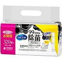 【送料無料】シルコット 99.99%除菌ウェットティッシュ つめかえ用(40枚*8コ入) 4903111412198