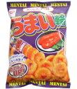 中国卸問屋で買える「リスカ うまい輪 めんたい味 (Lサイズ) 袋 75g 4903326111183」の画像です。価格は88円になります。