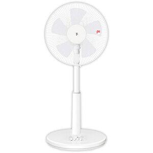山善 YAMAZEN 30cmリビング扇風機メカ式 押しボタンスイッチ タイマー付き YLT-AG30(W) ホワイ...
