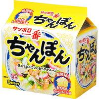 サッポロ一番 ちゃんぽん 5食(5袋)価格 インスタントラーメン インスタント麺