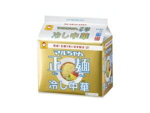 マルちゃん製麺 冷やし中華 5食パック インスタント麺 インスタントラーメン 袋めん 袋麺 JANコ...