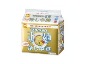 マルちゃん製麺 リニューアル冷し中華 5食パック インスタント麺 インスタントラーメン 袋めん...