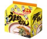 うまかっちゃん博多 5食パック 470g(94g×5袋) ハウス食品 豚骨エキスをベースに野菜・香...