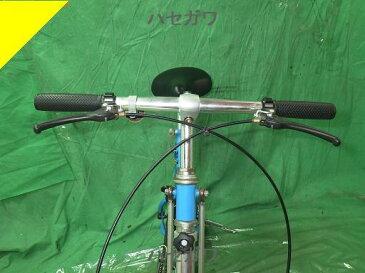 バースイズ 折り畳み自転車 8・5インチ 青【中古】