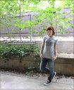 ぴったりフィットなボディが◎♪【KRIFF MAYER】クリフメイヤーMOTO★タイトフィットTシャツ