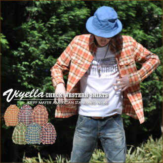 Viera ★ check Western shirt