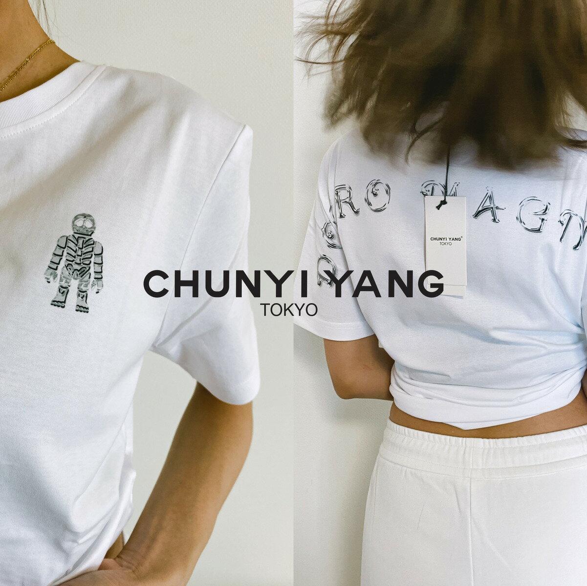 トップス, Tシャツ・カットソー REAL HEADCHUNYI YANG collection