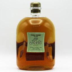 【ビッグサイズ】【レトロ】ニッカウヰスキー All Malt オールモルト 40度 1500ml