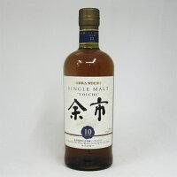 アサヒ ニッカ シングルモルト ウイスキー 余市 10年 45度 700ml (箱なし)