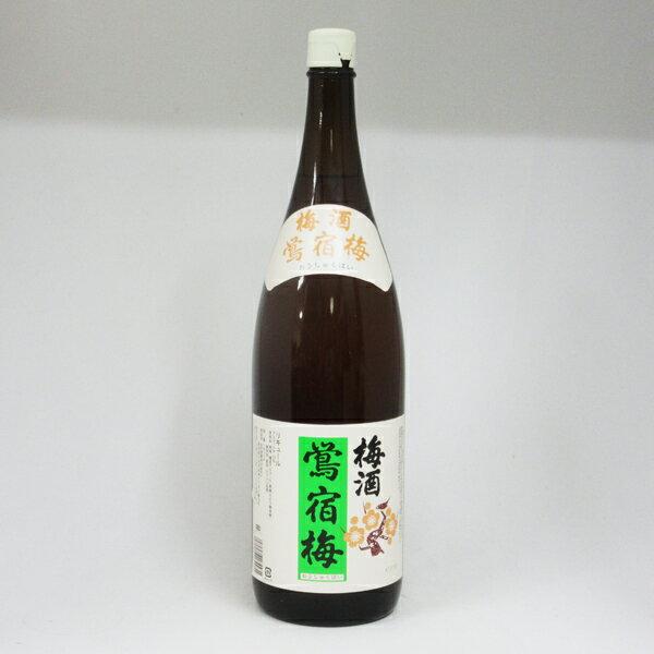 合同酒精梅酒 鶯宿梅(おうしゅくばい) 1800ml