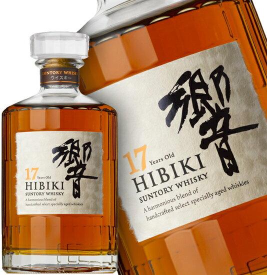Suntory HIBIKI 17 Years Old Blended Whisky - Alcohol 43% 700mL (Without Box)